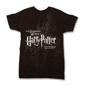 The Wizarding World Of Harry Potter Castle Shirt